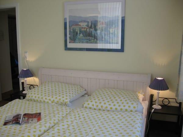 Schlafzimmer im Landhaus-Stil