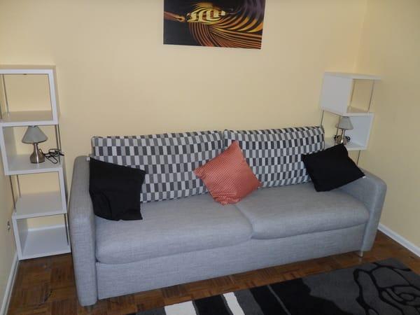 2.Schlafzimmer mit Schlafsofa ( inkl. Bettfunktion )