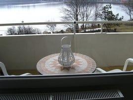 Frühstück auf dem Balkon?