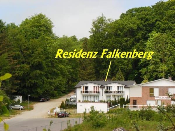 Außenansicht Residenz Falkenberg