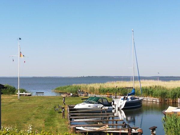 Bootshafen am Achterwasser