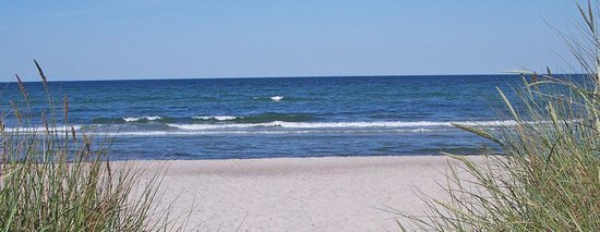 Strandaufgang in der Schaabe