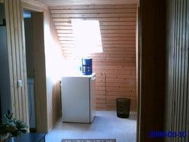 Flurbereich mit Kühlschrank