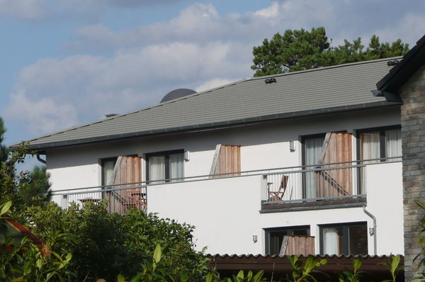 West-Balkon im II.OG mit schönem Ausblick