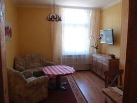offener Wohnbereich mit Sitzecke
