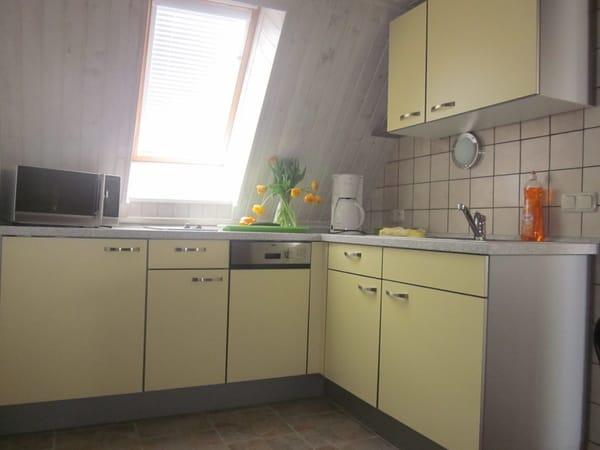 Küche im oberen Bereich