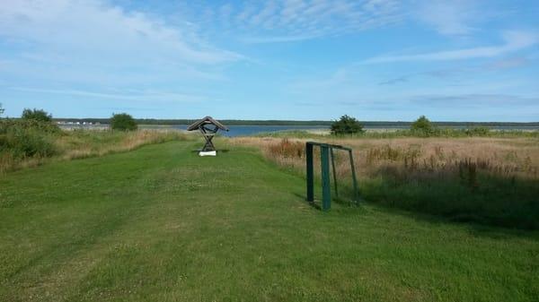 Zugang zum Bodden