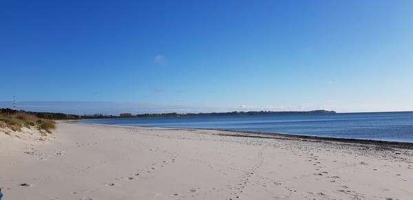 nur 3 km bis zur Ostsee