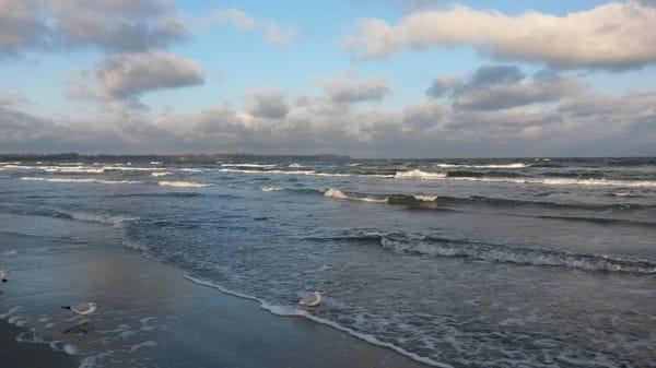 Ostsee nur 3 km entfernt