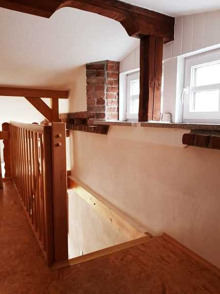 Treppenaufgang zur Empore
