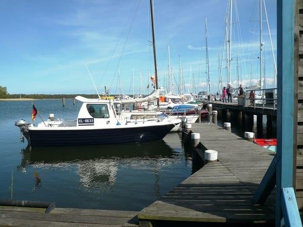 Boot eines Feriengastes