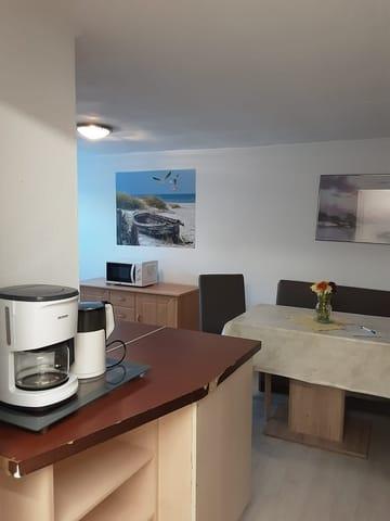 Eingang zur Küche und Wohnzimmer
