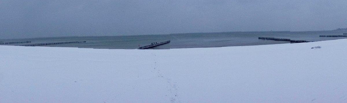 Winter in Glowe