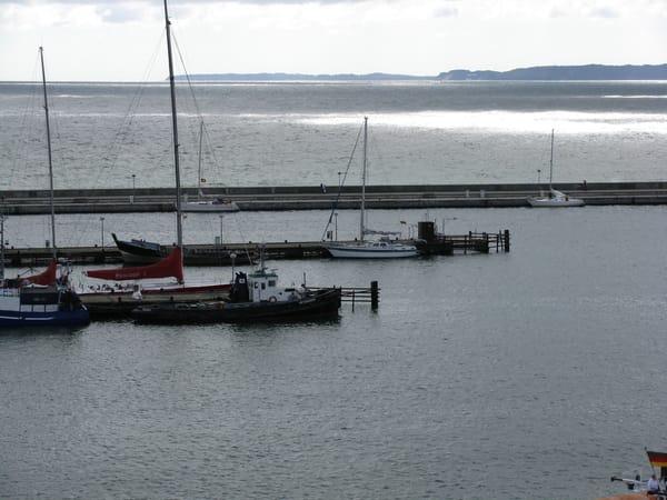 Yachthafen Sassnitz ca. 6 km von Ferienanlage entfernt.