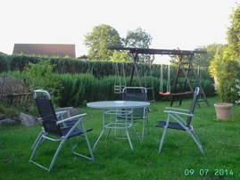 Chillen im Garten und Spass am Schaukel-u. Klettergerüst für die Kleinen