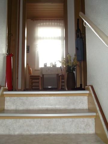 Eingang vom Treppenhaus
