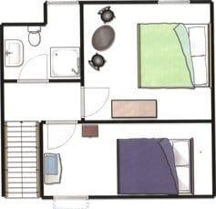 Skizze vereinfacht Dachgeschoss