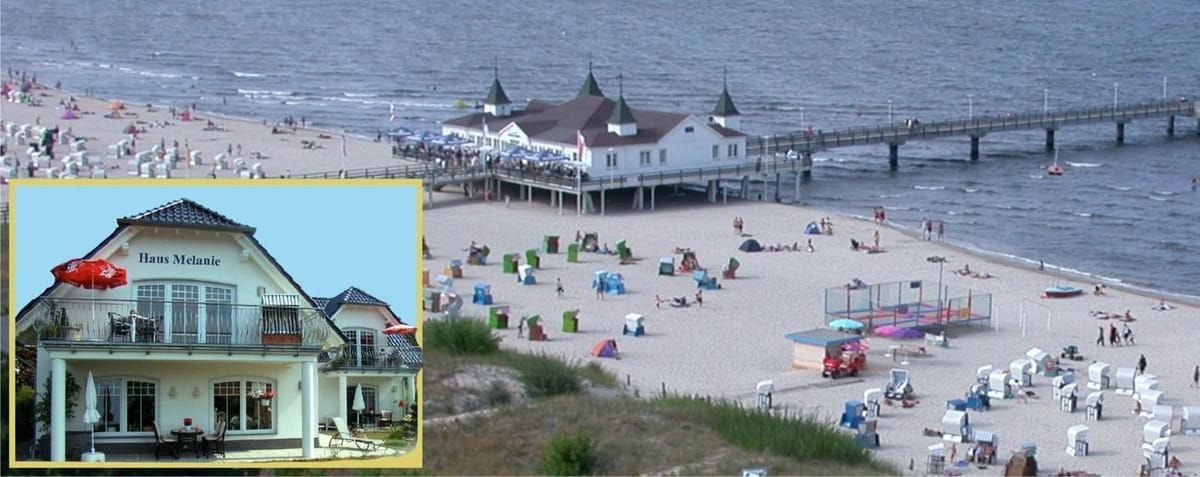 """""""Haus Melanie"""" Erholung u.Entspannung....idyllische Lage... 600m zum Strand....Bettwäsche,Handtücher,Parkplatz kostenfrei"""