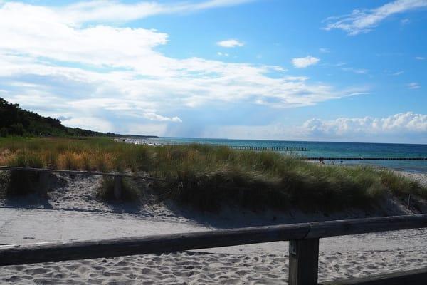 Strandübergang am Kurhaus