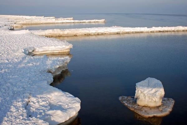 Manchmal kommt ein Eisberg vorbei. Natürlich nur im Winter  :-)))