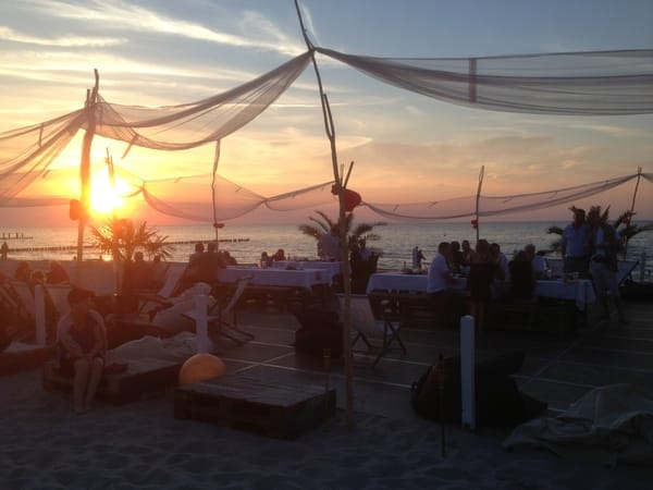 Tanzworkshop an dere Zuckerhut-Beachbar
