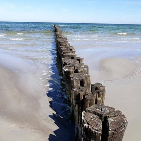unsere schöne Ostsee mit Buhnen