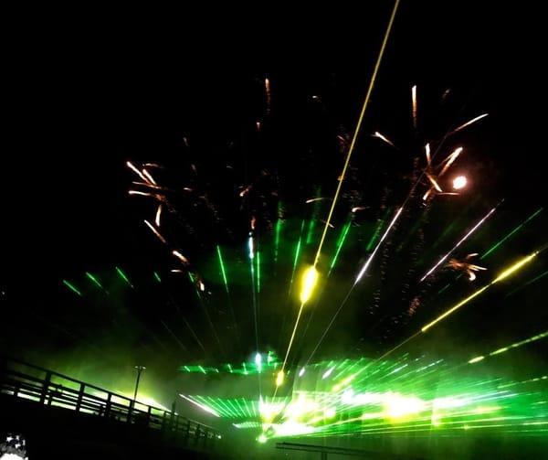 Inspiration - Lichtertanz der Elemente - jedes Jahr an der Seebrücke in Zingst