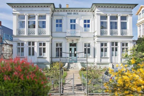 Villa See-Eck FeWo Erdgeschoss - Außenansicht