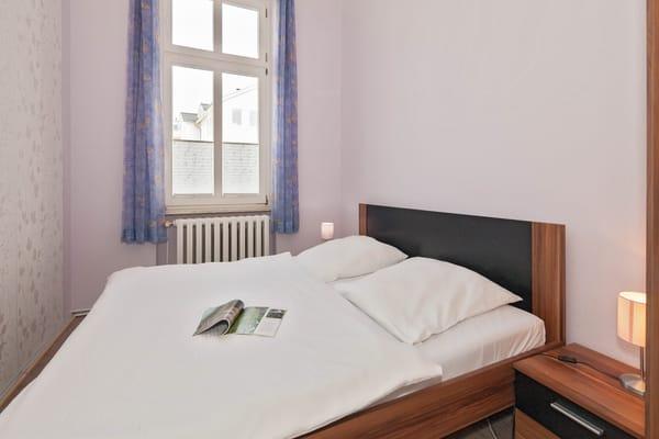 Villa See-Eck FeWo Erdgeschoss - Schlafzimmer 2