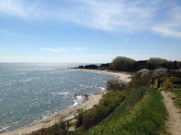 Wanderweg vom Lotsenturm mit Blick zum Südstrand