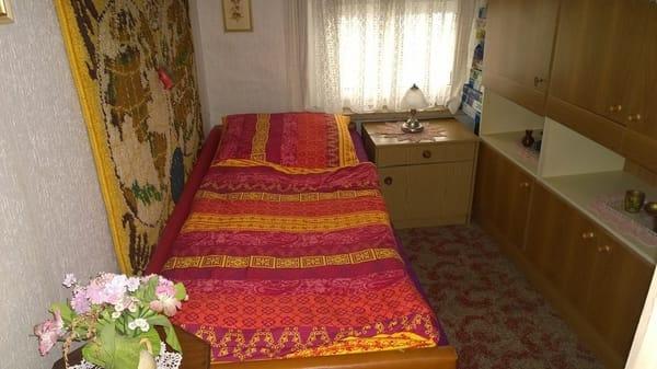 Wohnraum 2 für 1 Pers. schlafen