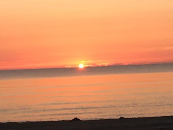 Sonnenaufgang Strand Kölpinsee