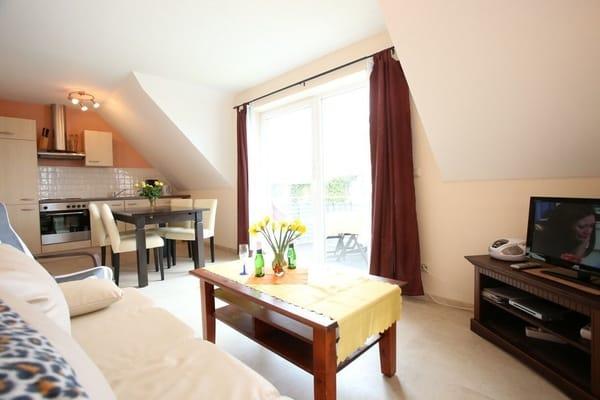 FEWO Wohnzimmer mit Küche