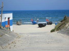 Zugang zum Fischerstrand
