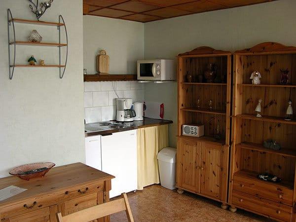 Wohnraum mit Pentry-Küche