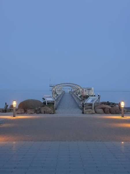 Abendstimmung an der Promenade