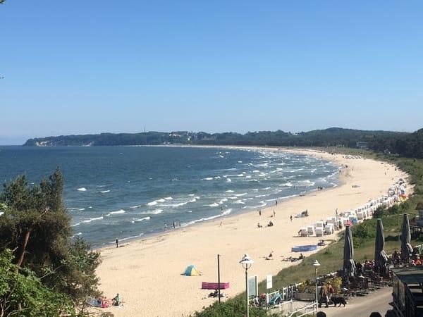 Der Südstrand - Ostseebad Sellin