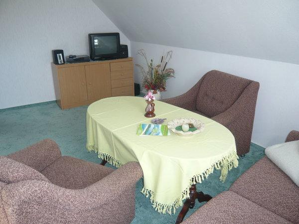 Kombiniertes Wohn- und Schlafzimmer