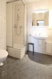 Duschbad mit Handtuchheizkörper ud Fön