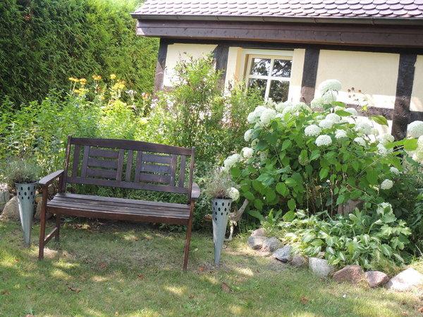 Vorderansicht Garten