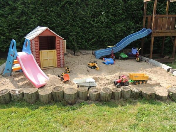 Spielplatz für unsere kleinen Gäste