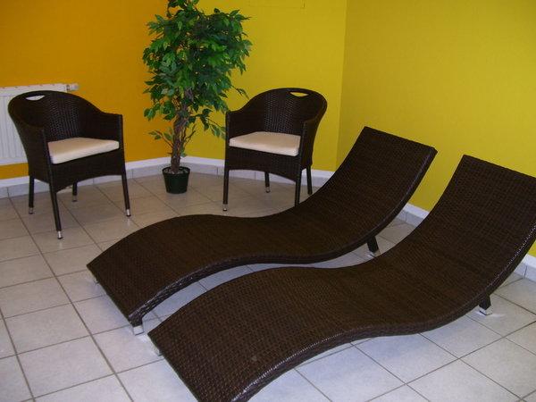 Sauna mit Ruheraum - ideal zum Entspannen