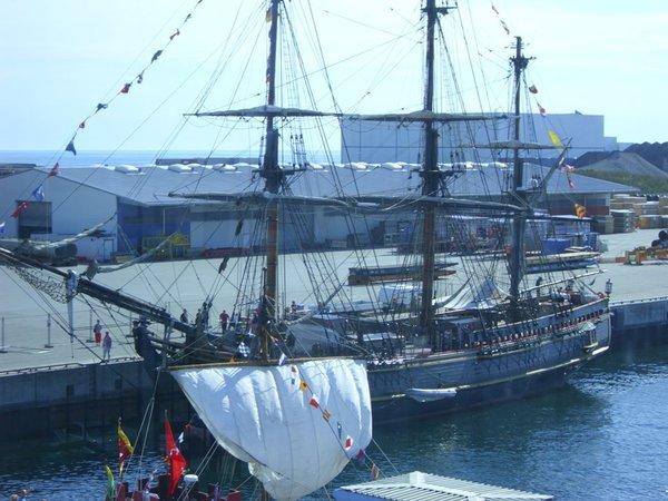 "Sail Sassnitz 2011 - Original-Filmschiff ""Bounty"" gesunken 2013"