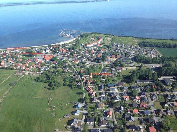 Lage der Unterkunft - Luftbild