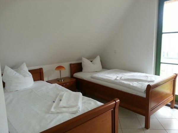 oder getrennte Betten im 2. Schlafzimmer