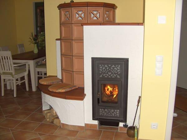 Kamin für kühle Abende