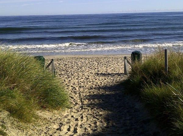 Zum Strand sind es nur wenige Schritte