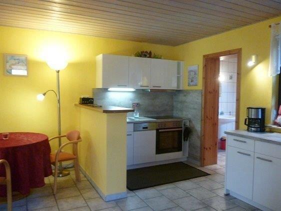 Küchenbereich mit Backofen und Spülmaschine (2016 neu )
