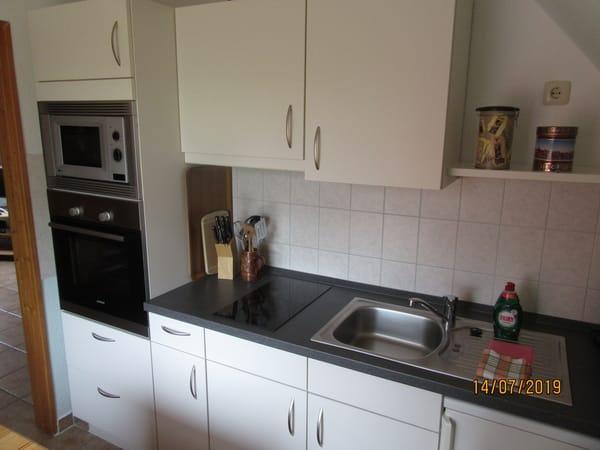 Klein-Küche mit Komfort