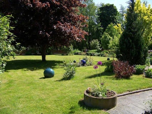 im Garten sitzen und erholen in Damshagen